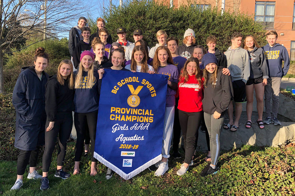 Penticton Secondary School Swim To Another Provincial Championship